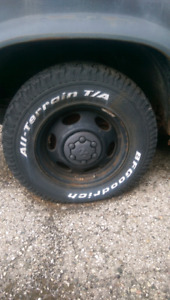 BF Goodrich All Terrain Tires (Comes With Truck)
