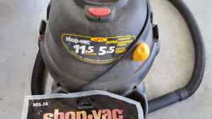 WET/DRY SHOP VAC 11.5 GALLONS