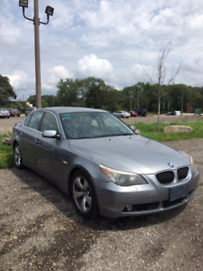 2007 BMW 5-Series 525i Sedan AS-IS
