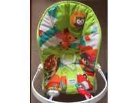 Fisher Price Forest Friends Vibrating baby rocker/seat
