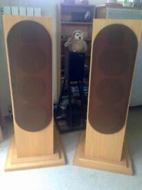 Rare Custom TITAN Made 3Way HIFI Speakers - late 80s - Make Me An Offer!