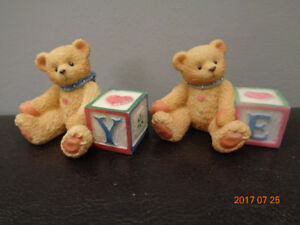 Looking For Cherished Teddies Letter Blocks Y & E