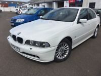 Free Delivery-25/10/2001 BMW 525d 2.5l Diesel-FSH-Immaculate Condition-Year Mot-Service-Free Deliver