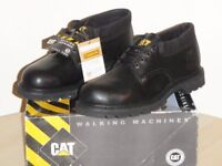 New, high-quality Caterpillar (Cat) brand safety shoes, 8 UK