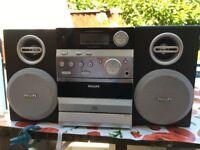 philips mini cd/radio/tape player