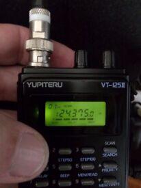Yupiteru Vt 125 MKII-scanner