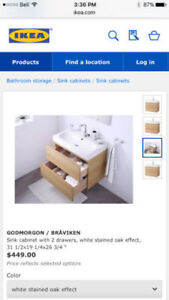Ikea Cabinet and Sink