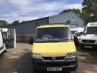 FIAT DUCATO SWB.2004.NICE ROOF RACK.STARTS FIRST TIME.DRIVES WELL.LONG MOT