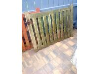 Two low Garden/Yard Gates