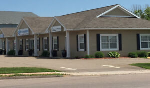 Professional office / clinic space for lease. Available Nov. 1st