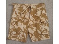 Desert DPM Camo Shorts.  NEW