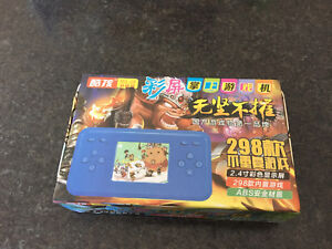 Handheld Game Player with 298 games