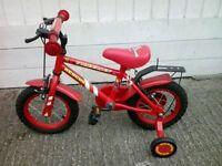 Excellent NEW condition Apollo FIRECHIEF 12 inches Children's Bike