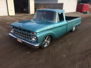 REDUCED - 1965 Ford F100 - Longbox - Air Ride