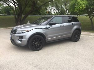 2014 Range Rover Evoque Dynamic Black Package