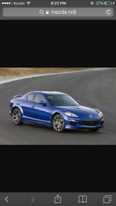 Rx8 wanted!!!