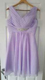Bridesmaids dresdes violet