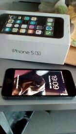 Apple iPhone 5s 16gig in excellent condition.