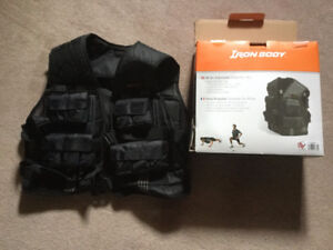 Weighted body vest