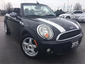2010 MINI Cooper Convertible , Accident Free, One owner, Certifi