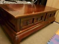 Vintage antique coffee table