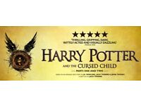 x 2 tickets for sale: Harry Potter and the Cursed Child 24th and 25th August