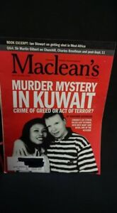 March 2002 Maclean's Magazine