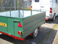 TRAILER 240/180/65 . PAYLOAD OF 1 TON
