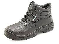 Size 6 click steel toe cap boots