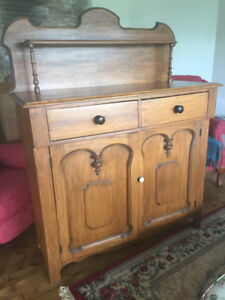 Antique Quebec Cupboard