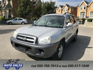 2006 Hyundai Santa Fe local one owner!
