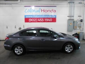 2014 Honda CIVIC LX HEATED FRONT SEATS HEATED MIRRORS