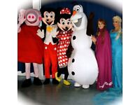 Mascot and costume hire from as little as £20