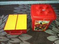 Lego - Tub and Bucket Full