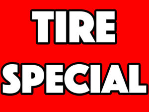 BRAND NEW TIRES - ALL SEASON & SUMMER - WARRANTY