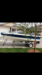 1990 50hp outboard $4200 or trade for sled