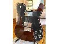 **AS NEW** Fender 72 Deluxe Telecaster Guitar – Walnut