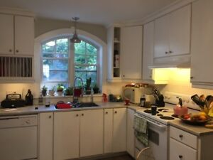 Beautiful Newly Renovated 2BR Flat Steps to Commons