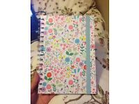 A5 Floral Notebook