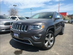 2015 Jeep Grand Cherokee LIMITED**SUNROOF**LEATHER**BACK UP CAM*