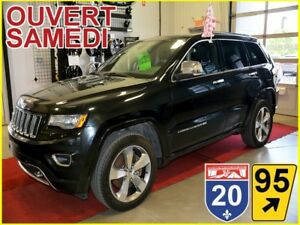 2014 Jeep Grand Cherokee Overland * V8 HEMI * TOIT PANO * HITCH