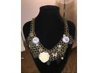 Gorgeous Chunky Necklace with Charms