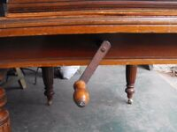 Table - victorian mahogany dining table