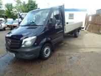 Mercedes-Benz Sprinter 2.1TD 313CDI LWB dropside ideal recovery truck new shape