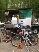 FREE SCRAP METAL AND APPLIANCES PICKUP TODAY 613-848-7587
