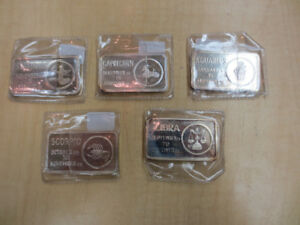 Jacques Cartier Mint Silver Bars
