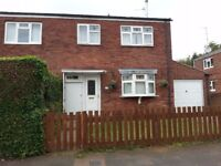 3 Bedroom end of terrace with large garage NG31 7XN Grantham