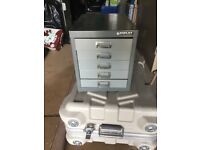 Bisley steel 5 drawer storage for A4 paper