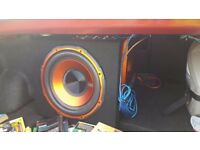 Active sub woofer EDGE 900w including wires
