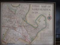 Northenden tithe map 1839